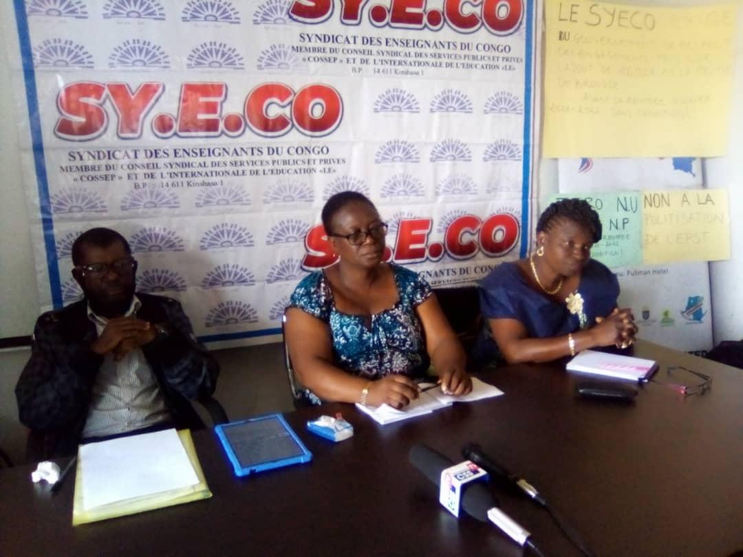 Éducation : le Syeco exige au comité de suivi de la paie le remboursement de leurs reliquats salariaux