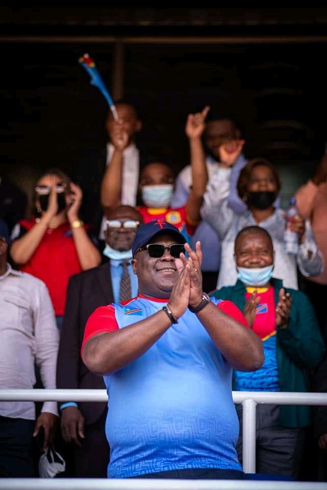 Élim/Mondial Qatar 2022 : « Maintenant vous devez nous amenés au Mondial » ( Félix Tshisekedi à Héctor Cúper après la victoire des Léopards)