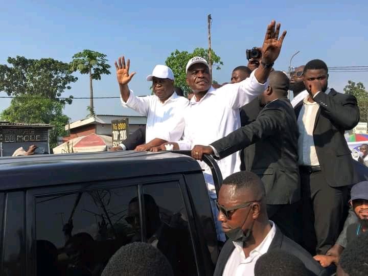 Meeting de Lamuka à Ste Thérèse : Pour Martin Fayulu l'heure est venue de dire non à une CENI politisée, au glissement, à la fraude électorale
