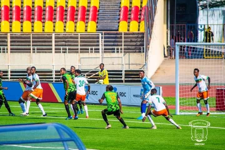 Foot/Vodacom Ligue 1 : Renaissance du Congo accroché in extremis par Maniema Union (2-2)