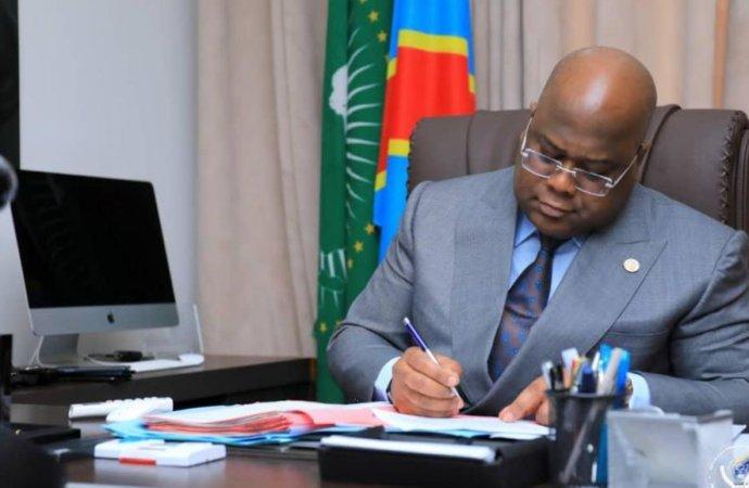 Diplomatie : Félix Tshisekedi nomme cinq nouveaux ambassadeurs (Ordonnance présidentielle)