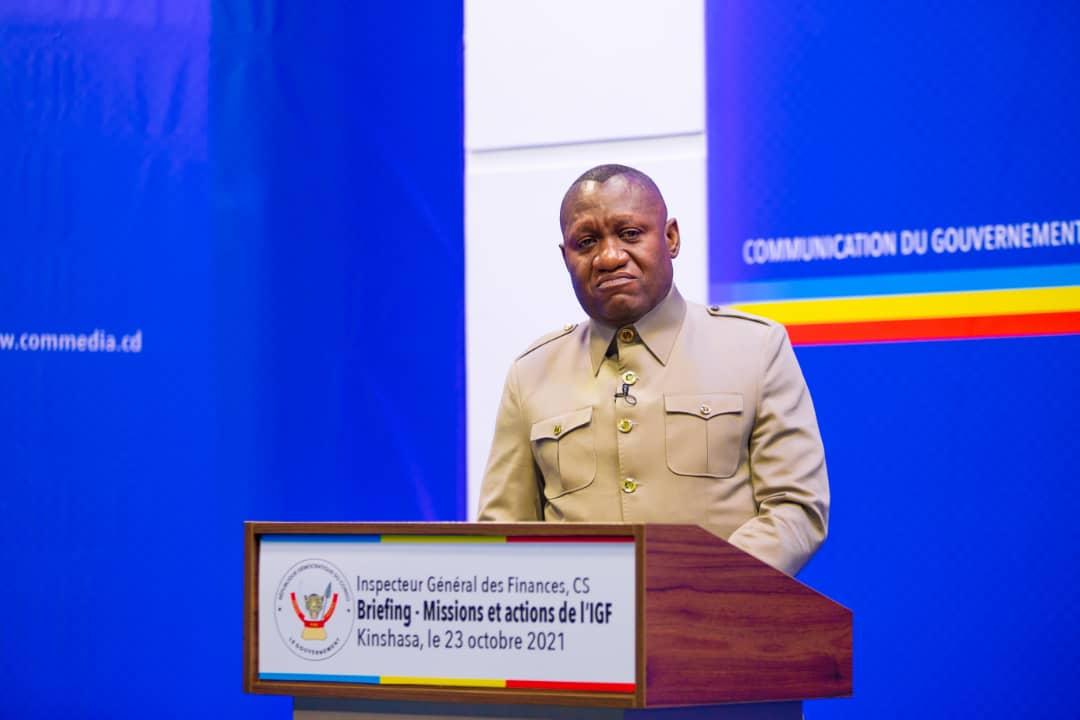RDC : « On ne peut pas parler de la bonne gouvernance lorsqu'on paralyse le contrôle » (Jules Alingete, IGF)